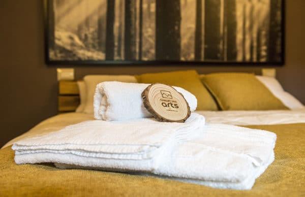 Kit asciugamani per ospiti - Vacanze di charme a Pragelato - Sestriere