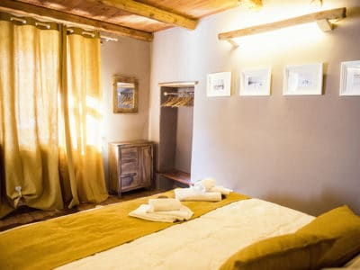 King size bed - Holiday apartment in Pragelato Sestriere