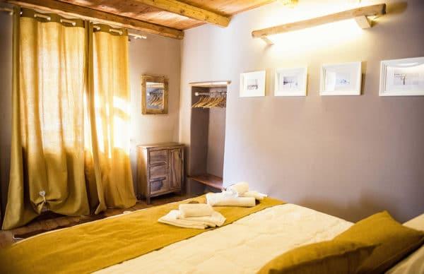 Camera da letto con letto a 3 piazze matrimoniale