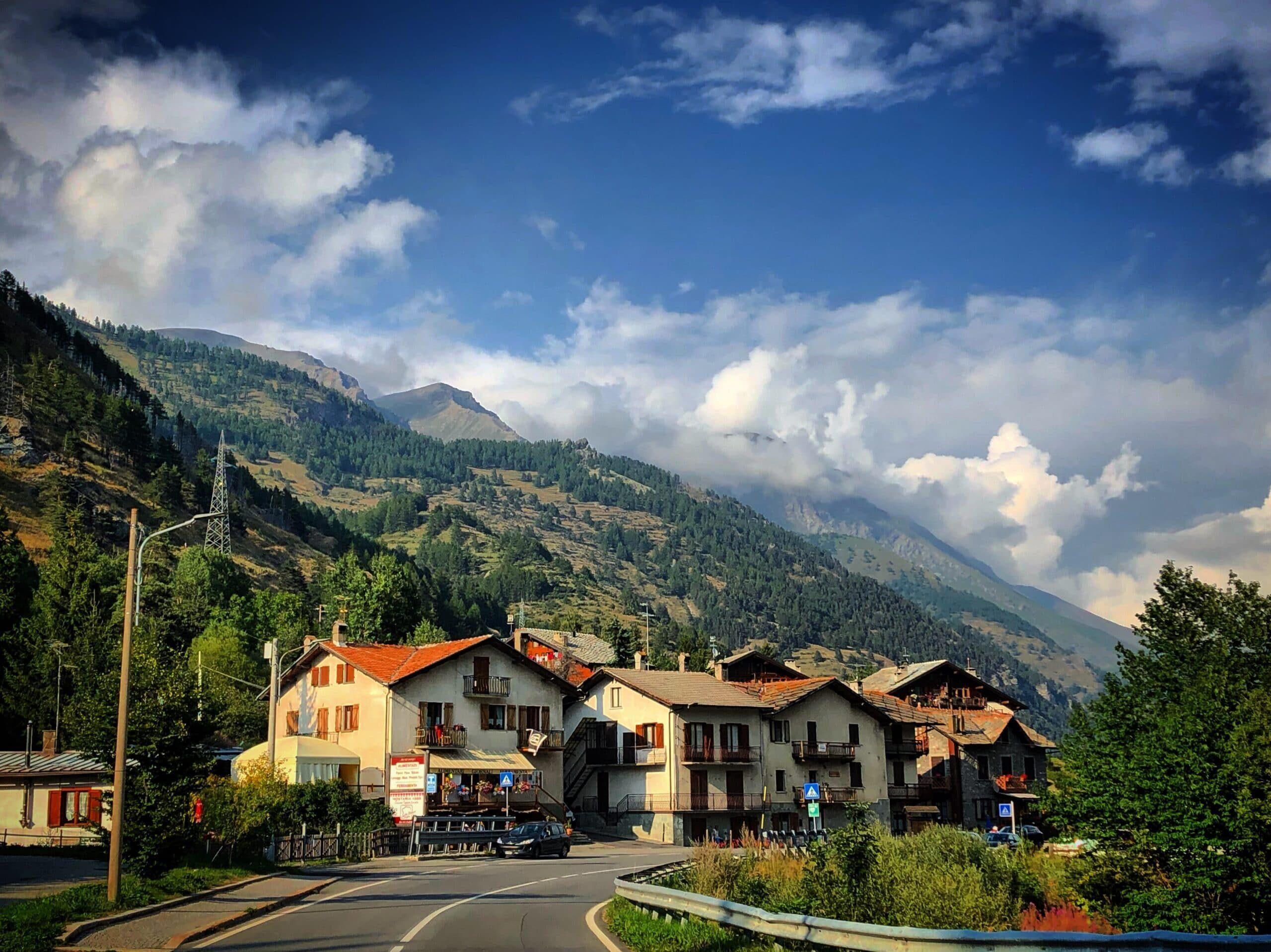 Souchres Basses village Pragelato Sestriere