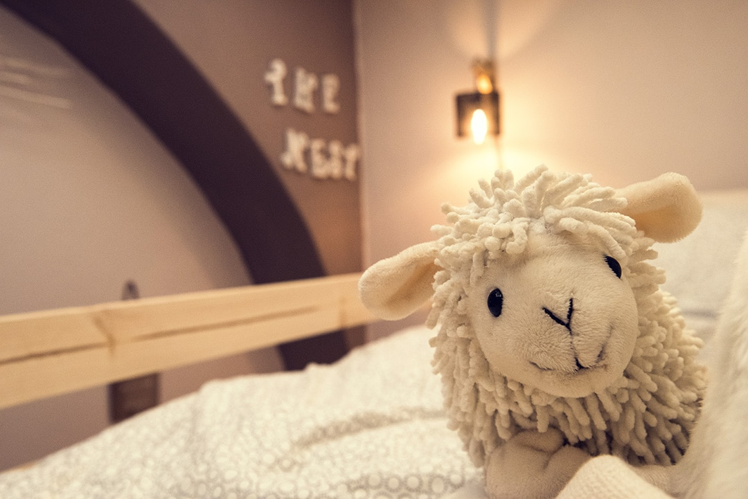 Children and baby room - Sheep - Holiday apartment in Pragelato