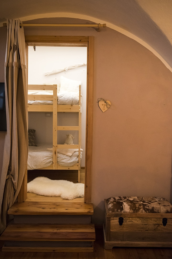 Children room of Chalet Des Arts - Holiday apartment in Pragelato - Sestriere