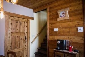 Coffee corner holiday apartment in Pragelato Sestriere - Torino