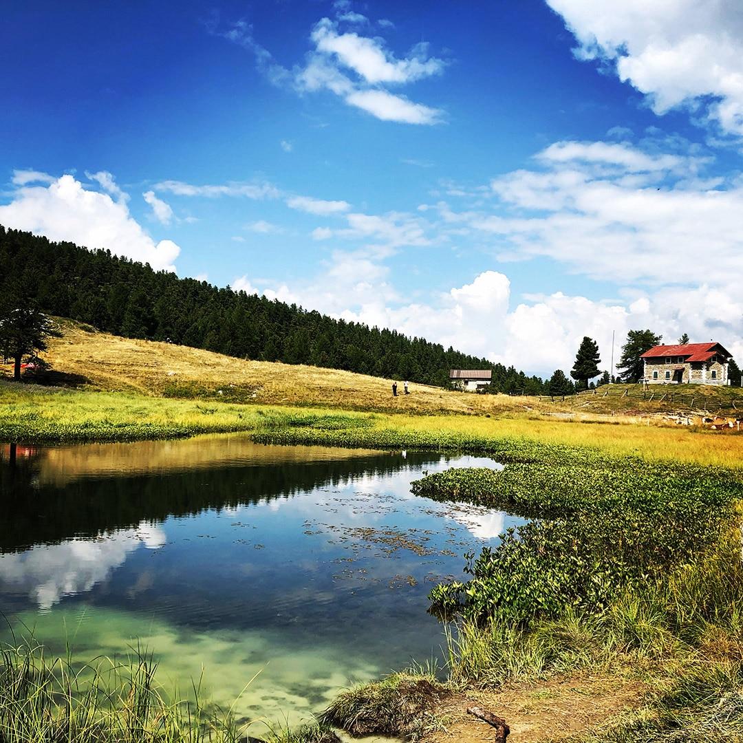 Lago Nero in Valle Argentera