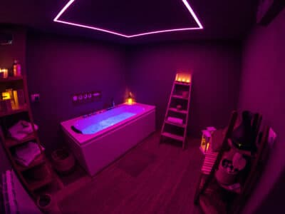 Spa and wellness of holiday apartment romantic love in Pragelato - Sestriere