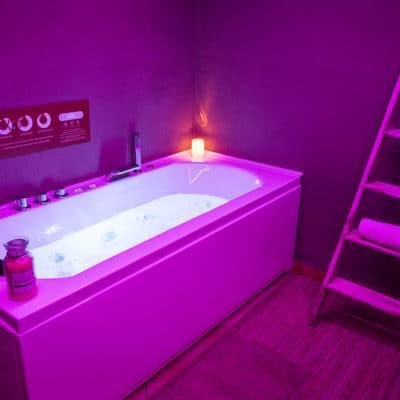Centro benessere per soggiorno romantico in montagna a Pragelato Sestriere Torino